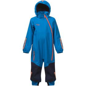 Bergans Lilletind Coverall Barn lt sea blue/navy/koi orange